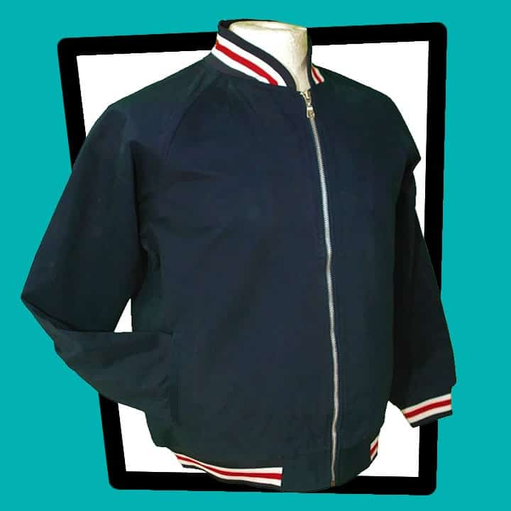Hoxton navy blue jacket