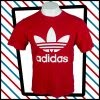 Classic red Adidas t-shirt
