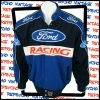 Blue and black JH Designs Ford racing jacket