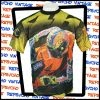 Yellow and black Précis Sport Valentino Rossi t-shirt