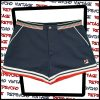 Blue and red Fila tennis shorts