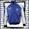 White and blue Diadora 1990-92 Italy national team training jacket