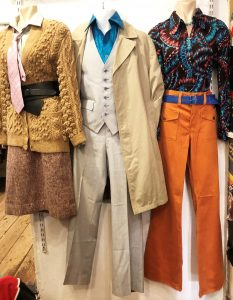 Vintage outfits in the Repsycho store