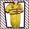 Yellow and red Pennzoil Penske Nascar Motorsport team shirt