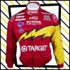 Red and yellow Chip Ganassi Racing Nascar Sparco Motorsport jacket
