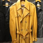 Leather coats at the Repsycho store
