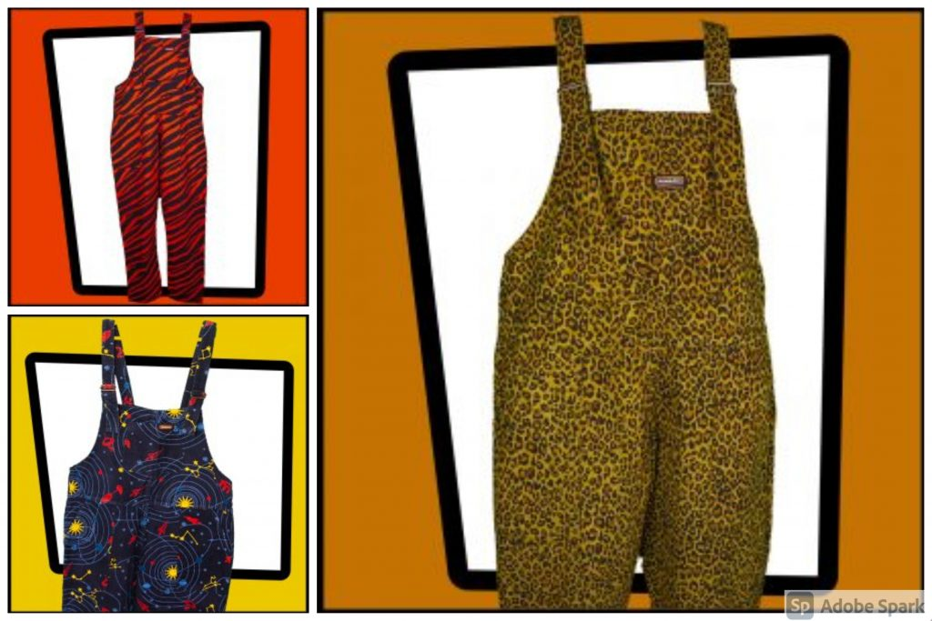 Run & Fly brand vintage inspired dungarees